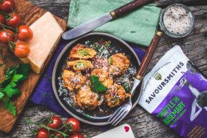 Recipes Truffled Spinach and Ricotta Ravioli